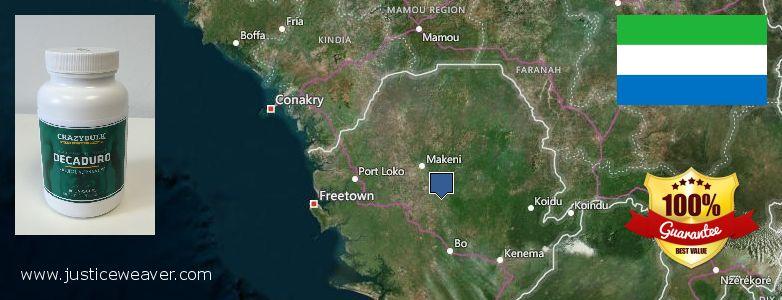 Къде да закупим Anabolic Steroids онлайн Sierra Leone