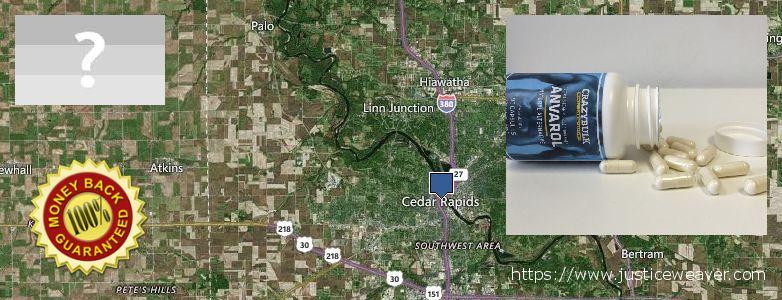Gdzie kupić Anavar Steroids w Internecie Cedar Rapids, USA