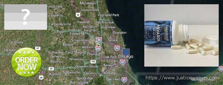 Gdzie kupić Anavar Steroids w Internecie Chicago, USA