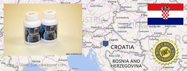 कहॉ से खरीदु Anavar Steroids ऑनलाइन Croatia