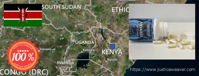 Къде да закупим Anavar Steroids онлайн Kenya
