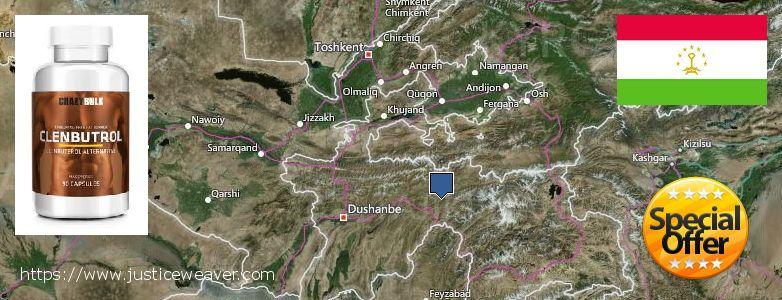 어디에서 구입하는 방법 Clenbuterol Steroids 온라인으로 Tajikistan