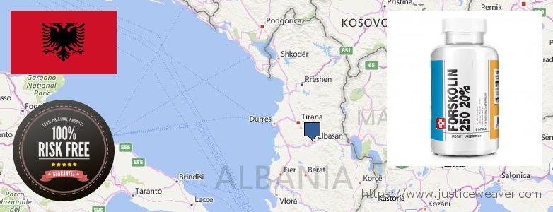 Къде да закупим Forskolin онлайн Albania