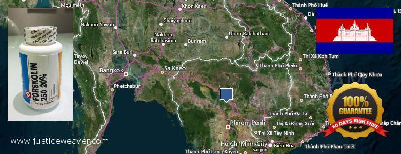 どこで買う Forskolin オンライン Cambodia