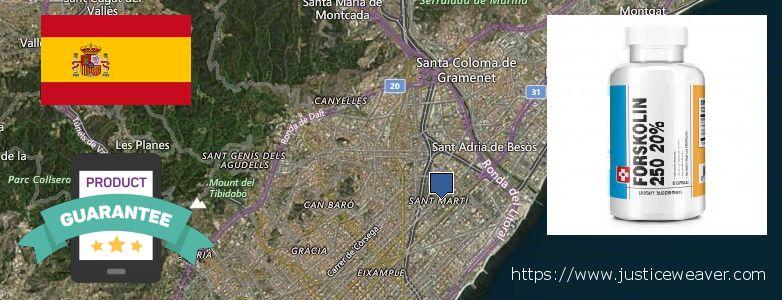 Where to Buy Forskolin Diet Pills online Sant Marti, Spain