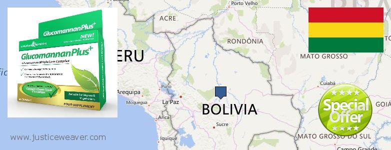 Hvor kan jeg købe Glucomannan Plus online Bolivia