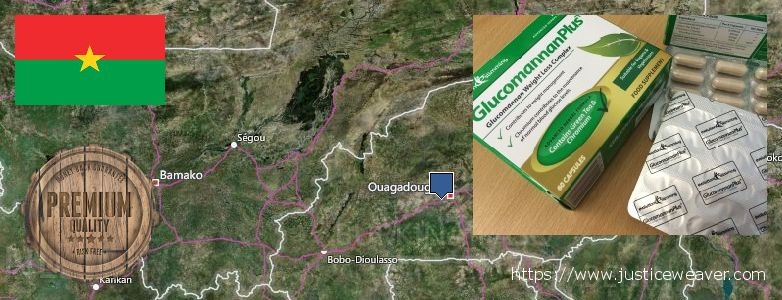 Dimana tempat membeli Glucomannan Plus online Burkina Faso