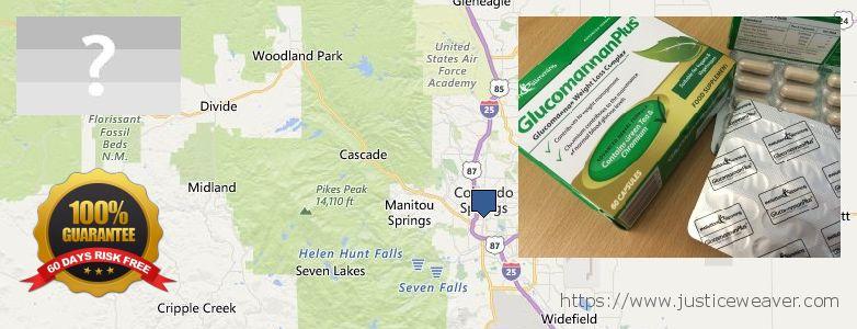 Purchase Glucomannan online Colorado Springs, USA
