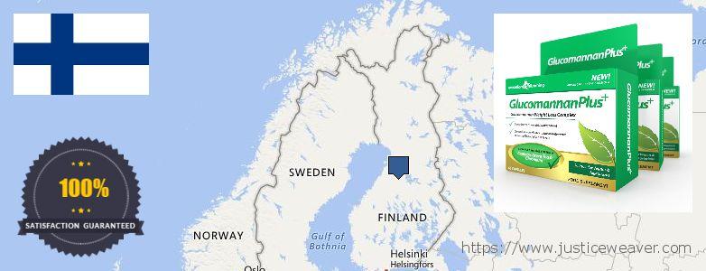 kust osta Glucomannan Plus Internetis Finland