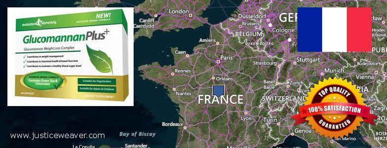 Var kan man köpa Glucomannan Plus nätet France