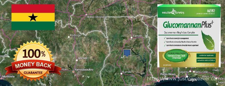Kur nusipirkti Glucomannan Plus Dabar naršo Ghana