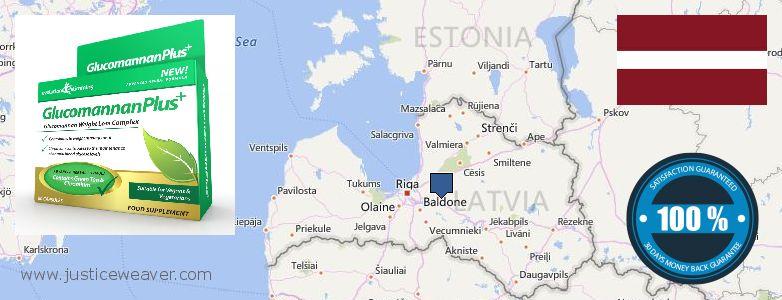ambapo ya kununua Glucomannan Plus online Latvia