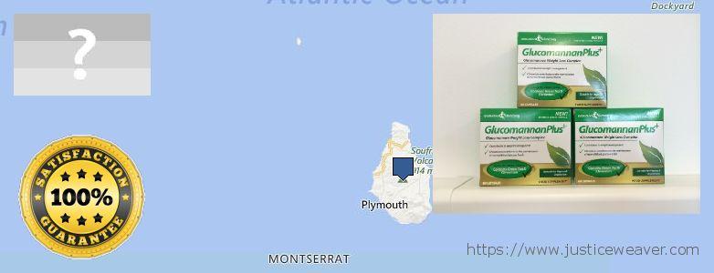 Purchase Glucomannan online Montserrat