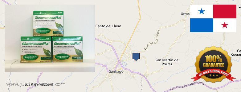 Buy Glucomannan online Santiago de Veraguas, Panama