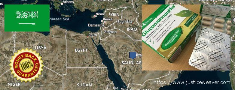 Gdzie kupić Glucomannan Plus w Internecie Saudi Arabia