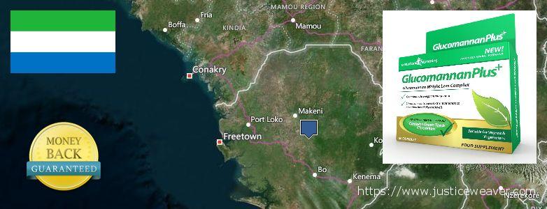 ambapo ya kununua Glucomannan Plus online Sierra Leone