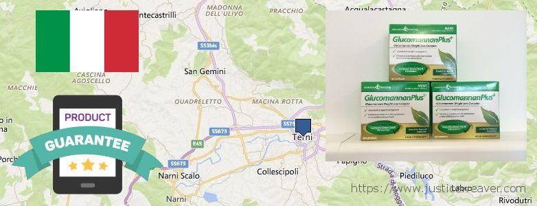 Where to Purchase Glucomannan online Terni, Italy