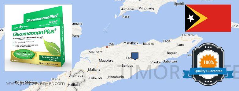 Hol lehet megvásárolni Glucomannan Plus online Timor Leste