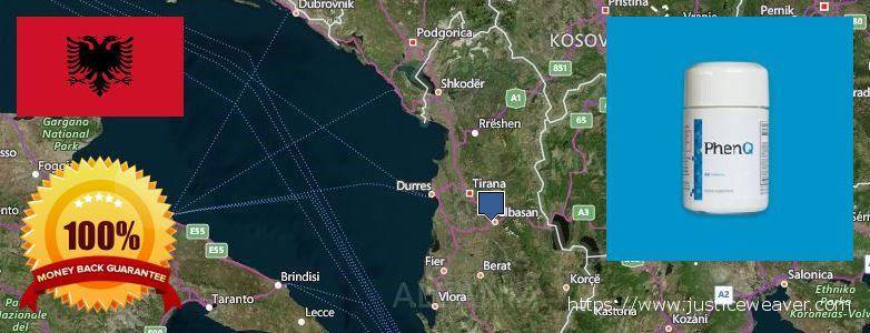 حيث لشراء Phenq على الانترنت Albania