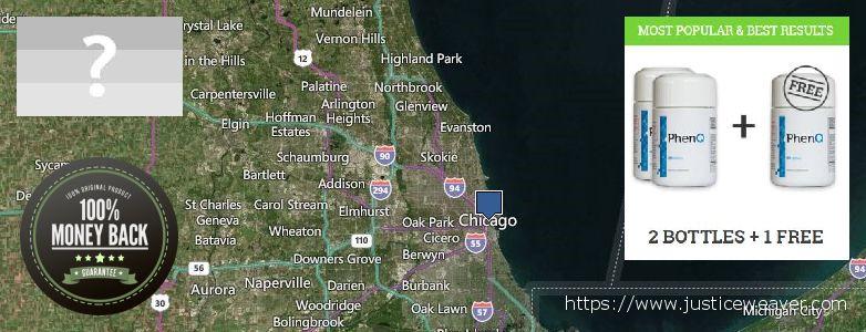 Gdzie kupić Phenq w Internecie Chicago, USA