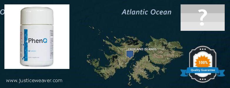 Jälleenmyyjät Phenq verkossa Falkland Islands