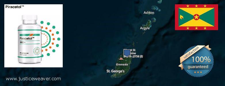 कहॉ से खरीदु Piracetam ऑनलाइन Grenada