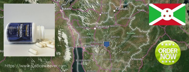 Buy Winstrol Stanozolol online Burundi