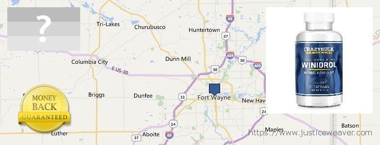 Gdzie kupić Stanozolol Alternative w Internecie Fort Wayne, USA