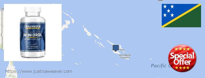 Purchase Winstrol Stanozolol online Solomon Islands