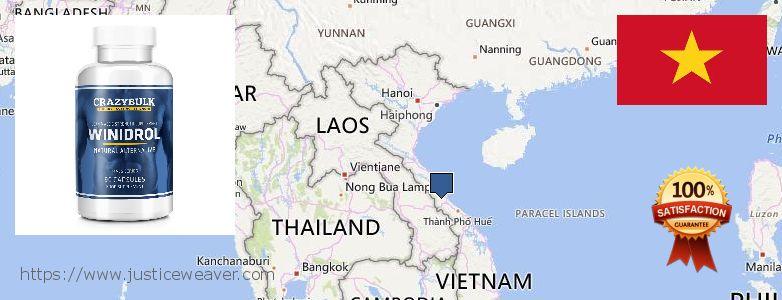 حيث لشراء Stanozolol Alternative على الانترنت Vietnam
